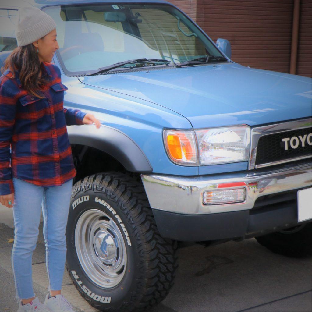 【interview】サーフ女子が語る愛車との出会い「乗りたい車に乗る方がいろいろ効率的!」